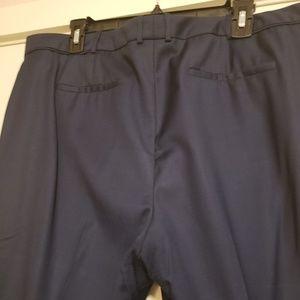 Baby Blue Straight Leg Trouser